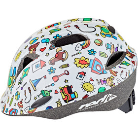 Red Cycling Products Rider Kid Casco Bambino, bianco/colorato